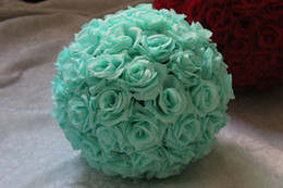 Free shipping 8 Inch Wedding silk Pomander Kissing Ball flower ball decorate flower artificial flower for wedding garden market decoration