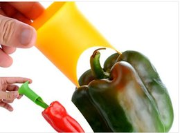 Wholesale Vegetable Tools Pepper Corer Tomato Bell Pepper Seed Remover Kitchen Tools Gadgets a789