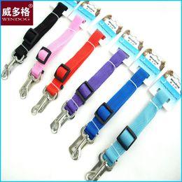 Wholesale Strong Pet Dog Car Travel Seat Belt Clip Lead Restraint Harness Width cm
