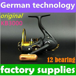 Wholesale New German technology bb KB to series okuma spinning reel fishing reel for feeder fishing new arrive