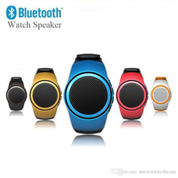 B20 Portable Hi-Fi Bluetooth Wireless Speakers Watch Style Subwoofer Stereo Universal Mini Speaker Support TF Card Slot HiFi Christmas Gift