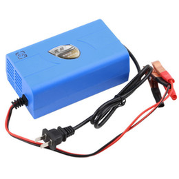 High Quality 12V 6A Motorcycle Car Boat Marine RV Maintainer Battery Automatic Charger