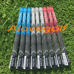 Wholesale 2016 New golf pride grips Mcc plus grips colors Multi Compound standard size DHL ship golf clubs tour golf grips