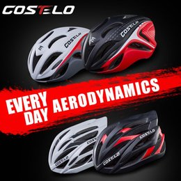 Wholesale COSTELO Ultralight Cycling Bicycle Helmet Road Mountain MTB Helmet Integrally molded Bike Helmet CM