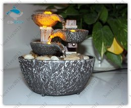 Wholesale Indoor Water Fountain With Led Lights Coast Tiered Rock Bowl Fountain Beautiful Arts and Crafts David