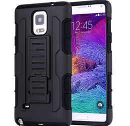 Wholesale promotion For iphone Plus S S Samsung galaxy S5 Future Armor Impact Hybrid in Hard Combo Case with Belt Clip Holster Kickstand