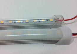 DC 12V 0.5m 36leds 5050 SMD LED Rigid Strip Lights Bar Hard Article Lamp smd5050 Non-waterproof Strips Lights WW CW 12 Volts CE ROSH
