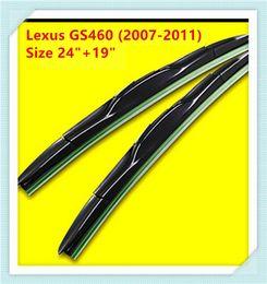 3 Section Rubber Windscreen Wipers For Lexus GS460 Lexus GS300 Lexus GX460 Lexus CT200h Lexus LS600hL Lexus LS460 Lexus IS300C Lexus LS400