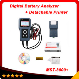 Wholesale MST Digital Battery Analyzer with Detachable Printer Top selling mst Auto scanner