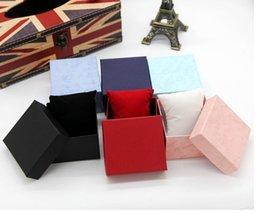 Wholesale-2015 Beautiful Fashion Present Gift Boxes Case For Bangle Jewelry Ring Earrings Wrist Watch Box