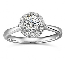 Free Shipping Fine Princess Created Diamond Solid Sterling 925 Silver Wedding Bridal Ring Band Jewelry
