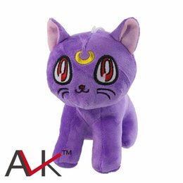 Wholesale La última Pretty Guardian Sailor Moon peluche de muñecas gato Luna Artie Smith Diana