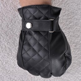 mitaine à doigts Promotion Gros-mode casual Hommes Faux cuir Gants Finger complet Homme Boys gants mitaines Hot Sport
