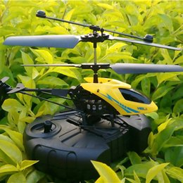 Wholesale mini rc helicopter radio remote control aircraft d gyro helicoptero electric mirco channel ir brushless ch helicopters