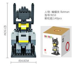 Wholesale 2015 new LOZ Batman Diamond Nano DIY D Building Blocks Bricks Action mini Figures Toys for children without original box BY000
