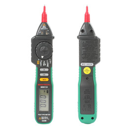 Wholesale MASTECH MS8212A Digital Pen Type Multimeter DC AC Voltage Current Tester Diode Continuity Logic Non contact Voltage INS_416