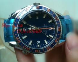 Wholesale Top Quality Men s Planet Ocean Co axial Automatic Chronometer wristwatch