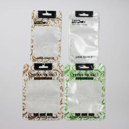 Polyuréthane plastique en Ligne-Modèles USB Sacs en polyuréthane transparents en polyuréthane OPP Emballage Fermeture à glissière Accessoires pour paquets Boîtes à billes en PVC Poignées pour téléphone portable iPhone V8