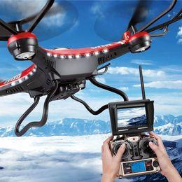 New JJRC H8D 2.4Ghz mode Headless One Key Retour 5.8G FPV RC Quadcopter Drone avec 2MP caméra Moniteur LCD FPV RTF DHL à partir de lcd moniteur d'affichage vidéo fournisseurs
