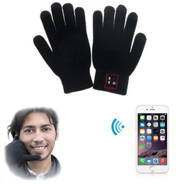 Hi Call Bluetooth Gloves Talking Gloves Touch Screen Gloves For Cell Phones Moblie Phones Hands-Free Touch Function
