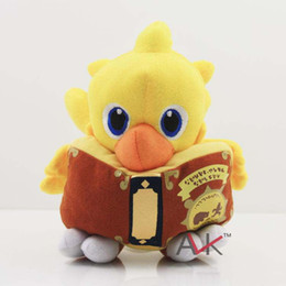 Wholesale Kid Christmas Gift Chocobo Final Fantasy Plush Doll Chocobo Tales Crystal Ddfenders Chocobo Stallion Chocobo Racing Cellphone APP Game Toys