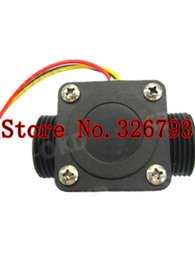 Wholesale Hot New Automatic trafficking Hall water flow sensor water system flow meter OKD HZ43WA