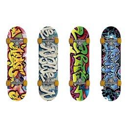 Wholesale Puente Plies Double Kick Concave Deck Cool Grip Tape Doodle longboard Free Skateboard Bag