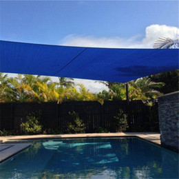 Wholesale Outdoor Patio Square Sun Sail Top Awning Garden Shelter Size M M UV Protection Rectangle Patio Sun Sail