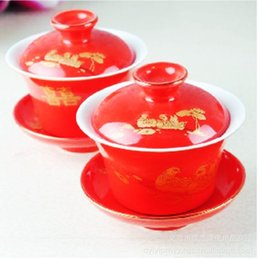 Wholesale Home Daily wedding gift ideas Festival Party celebration supplies new high grade dragon on the cup