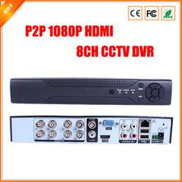 Enregistrement haute performance P2P 1080P HDMI 8CH CCTV DVR D1 vue reomote facile via l'appareil Numéro de série de sécurité DVR à partir de sécurité facile fabricateur
