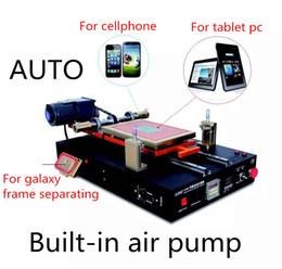 Wholesale Automatic Vacuum Separator Machine Built in Air Pump for iPad Tablet PC Mobile Phone LCD Screen Glass Repair