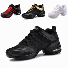 Wholesale SM093 EU35 Sports Feature Soft Outsole Breath Dance Shoes Sneakers For Woman Practice Shoes Modern Dance Jazz Shoes Discount