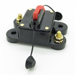 Wholesale Square Auto Switch Car Audio Insurance Block Fuse Holder Power Circuit Breaker