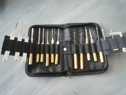Wholesale Locksmith Door Tool - Locksmith tool--Open door lock tool house lock pick set tool free shipping