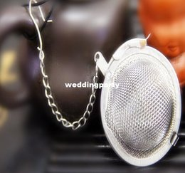 Stainless Steel Tea Pot Infuser Sphere Mesh Strainer Ball 5cm