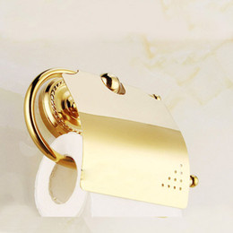 Toilet Paper Holder bathroom toilet box full of copper and gold toilet roll holder toilet Paper Holder Tissue Box