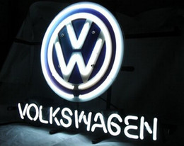 Wholesale 2016 Hot Neon Sign Bulb Auto Vehicle S Store Company Garage VAGG Volkswagenn German VW Automobile Advertisement Display Neon Signs quot X15 quot