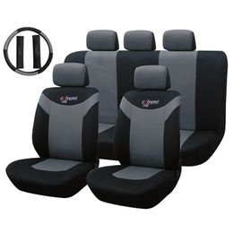 Wholesale Waterproof Car Seat Cover Set or set Anti Dust Steeling Wheel Cover Protector Cushion Pad Supply Interior Accessories K2214 K2213