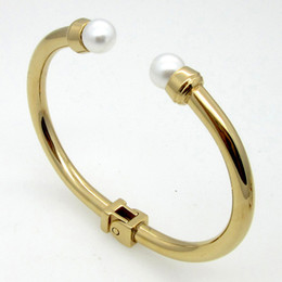 indian pearl bangle Bracelet Fashion Bangles for women nail screw small Multilayer Charm Gold Bracelet Silver bracelets bangles titanium