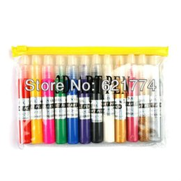 Wholesale Hot Selling Colors DIY UV Gel Acrylic D Nail Art Painting Polish Pen Set Nail Lacquer Gift