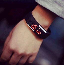 Free shipping 5pcs lot promotion fashion waterproof silicon bracelet watch wristband plastic geneva watch