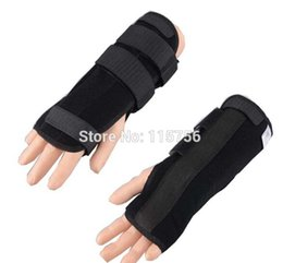 Wholesale 1pc Carpal Tunnel Wrist Brace Support Sprain Forearm Splint Band Stra