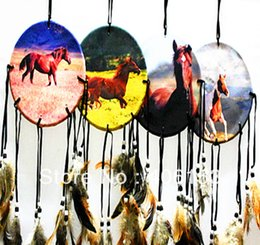 Wholesale HOT series of horse beautiful dream catcher items mixed in opp bag
