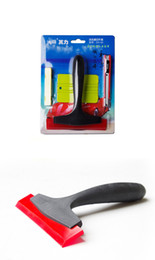 New arrive good quality Car wrap tool set with 4 pcs items for car vinyl wrapping installment free shipping