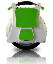 Wholesale Electric Self Balancing Wheelbarrow electric Unicycle Scooter hot selling with front and rear LED lights DHL fast shipping