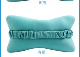 Wholesale Electric Battery Car Zip Up Elastic Band Seat Neck Rest Massaging Vibrator Pillow Seat Cushion