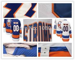 2016 New, Custom Mens Best Quality New York Islanders Hockey Jerseys Home Blue Road White Full Number & Name Embroidery Logos Customiz