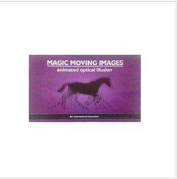 Wholesale fun Magic animation book magic moving images animated optical illusion magic tricks magic props