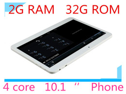 Wholesale 10 inch phablet G Phone Call tablet pc android G G MTK6582 Core Ghz GPS bluetooth Wifi Dual Camera sim quot tablets