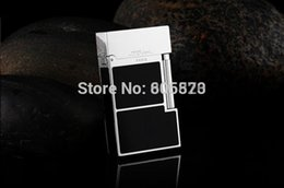 Wholesale S T Memorial Dupont lighter Bright Sound New In Box Gas converter Serial number C136